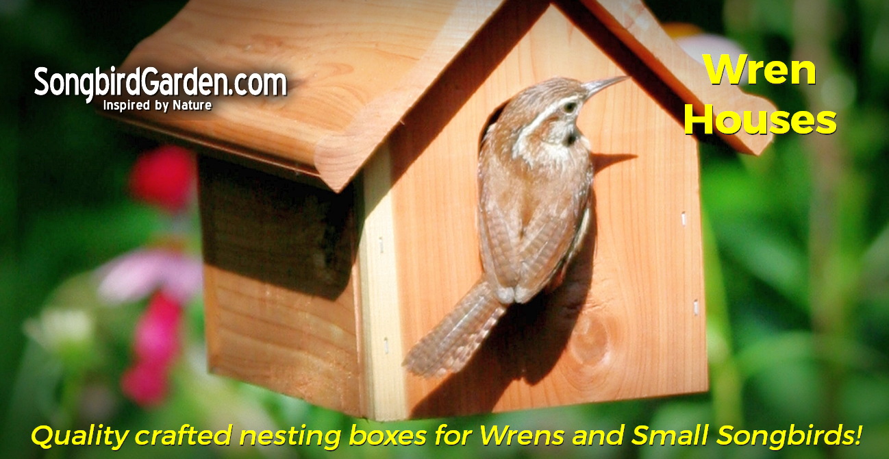 Wren-Chickadee-Houses