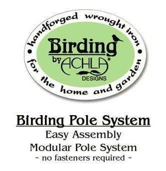 Build Your Own Bird Feeder Pole