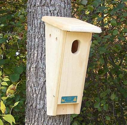 Coveside conservation species specific bird houses for Different types of birdhouses