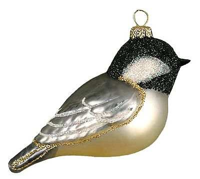 Christmas Tree Decorations Glass Birds | Holliday Decorations