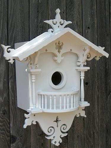 Victorian Backyard Birds :  Bird House, Decorative Birdhouses For Backyard Birds at Songbird