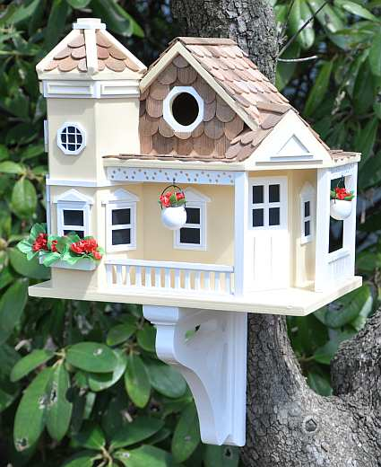Victorian Backyard Birds :  Victorian Style Bird Houses For Nesting Backyard Birds at Songbird