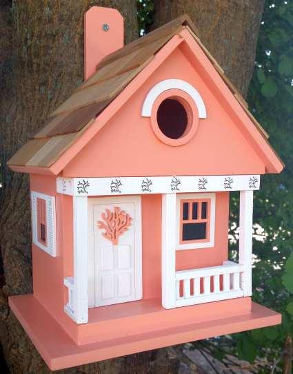 Home Bazaar Beachcomber Cottage Birdhouse Collection Set