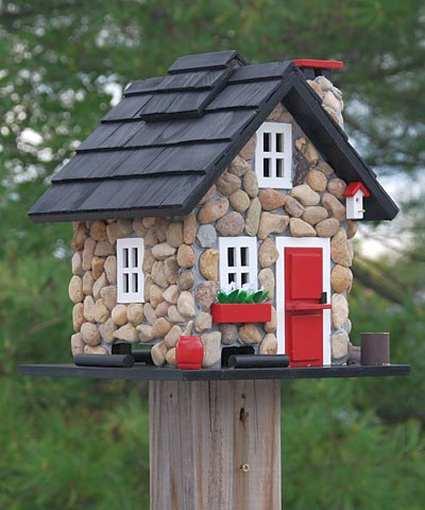 Victorian Backyard Birds :  Victorian Style Bird Houses For Nesting Backyard Birds at Songbird