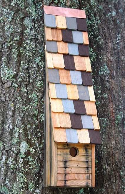 Heartwood Jacobs Ladder Bird House Natural Quality