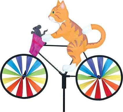Premier Designs Kitty Bicycle Garden Spinner Medium
