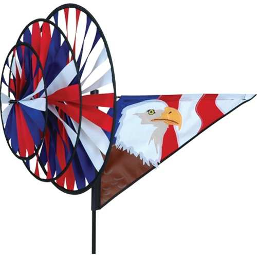 Bald Eagle Triple Spinner