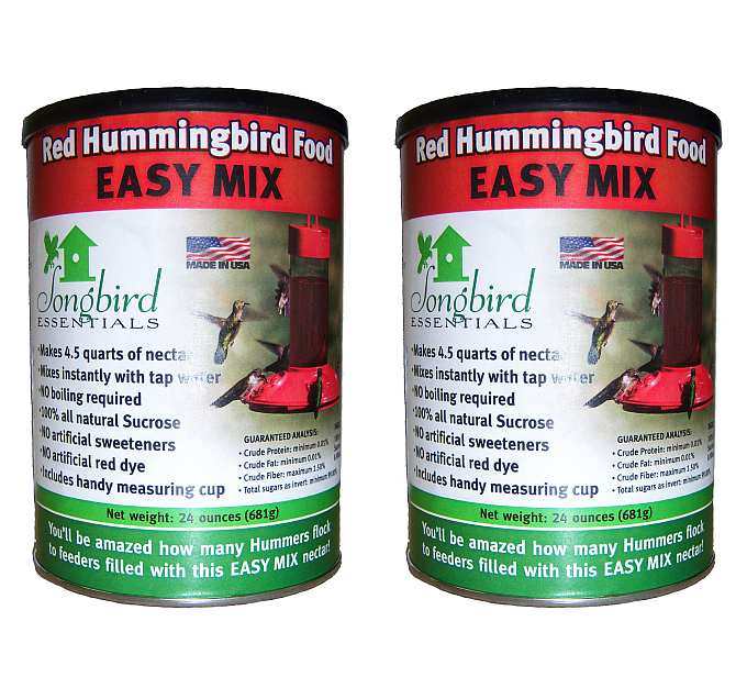 Songbird Easy Mix Red Hummingbird Nectar 48 oz