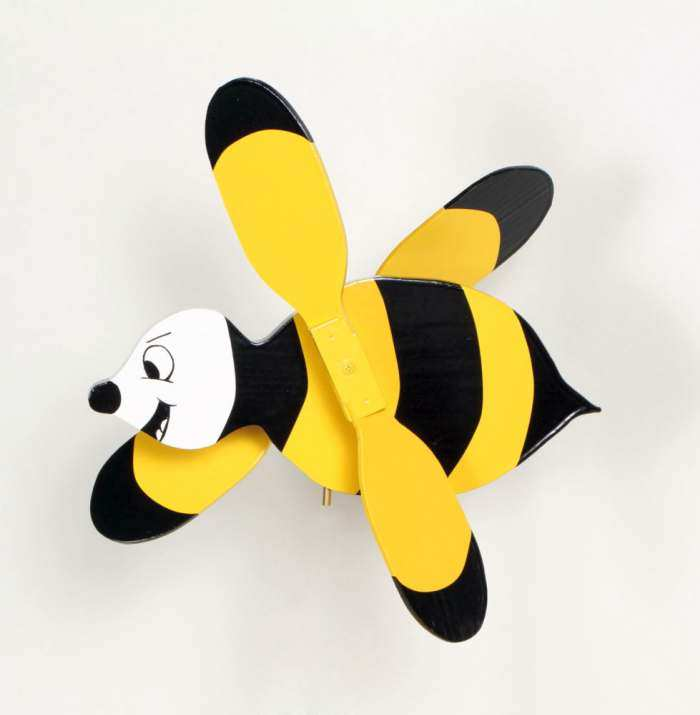 Classic Whirligig Spinner Bumble Bee