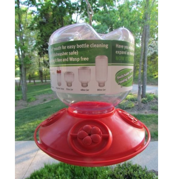 Dr. JB's Switchable 32oz Hummingbird Feeder