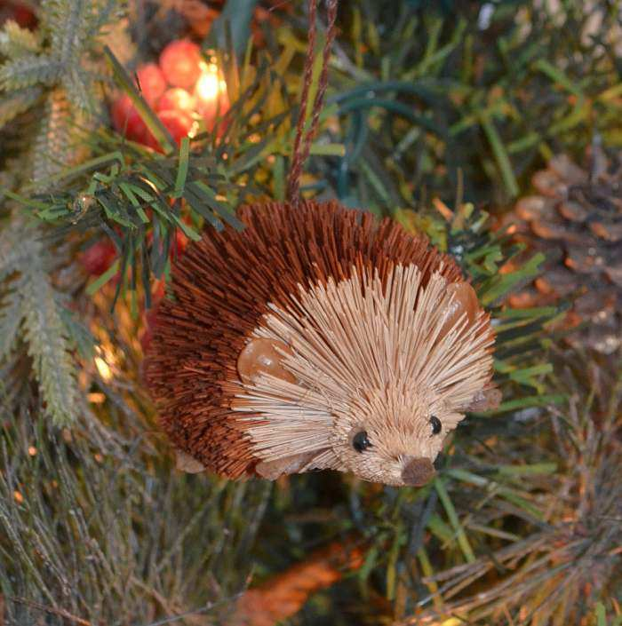 Brushart Bristle Brush Ornament Hedgehog