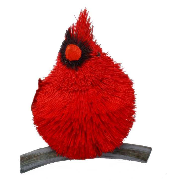 Brushart Bristle Brush Animal Cardinal 5