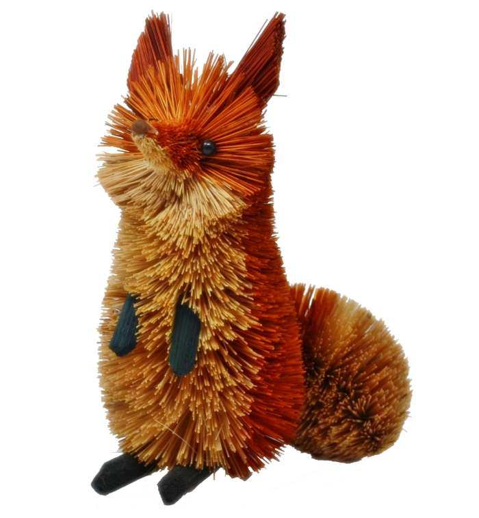 Brushart Bristle Brush Animal Fox Red/Brown 9