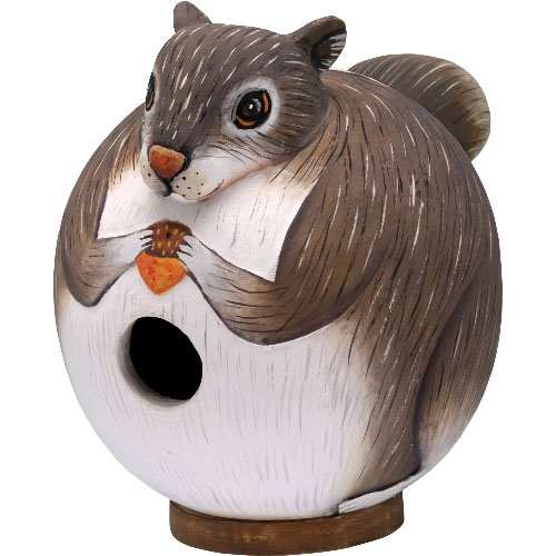 For The Birds Gord-O Squirrel Bird House