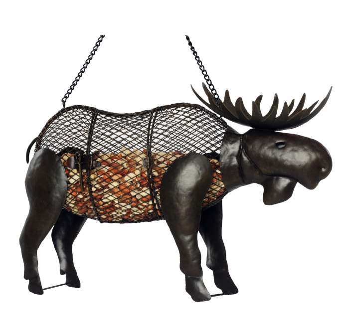 Outdoor Lover Moose Mesh Bird Feeder