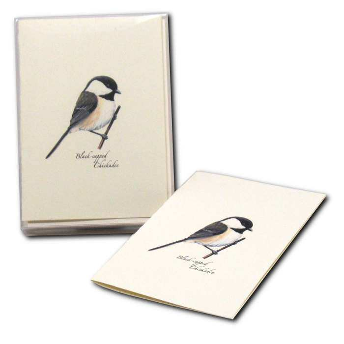 Boxed Notecard Assortment Chickadee Set of 8
