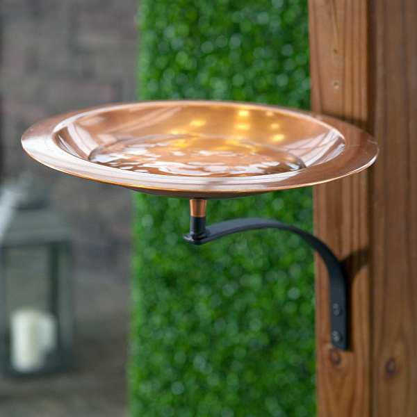 Achla Classic II Bird Bath with Mounting Bracket
