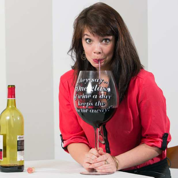 Wine Glasses For Sale Part - 39: Worlds Largest Wine Glass, Super-Size Wine Glass For Wine Lovers At  Songbird Garden