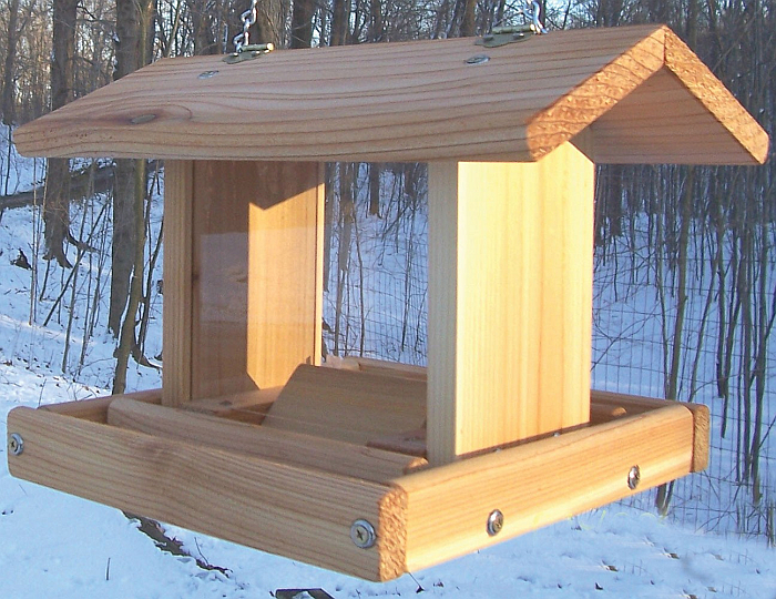 Cedar Select Small Hanging Hopper Feeder