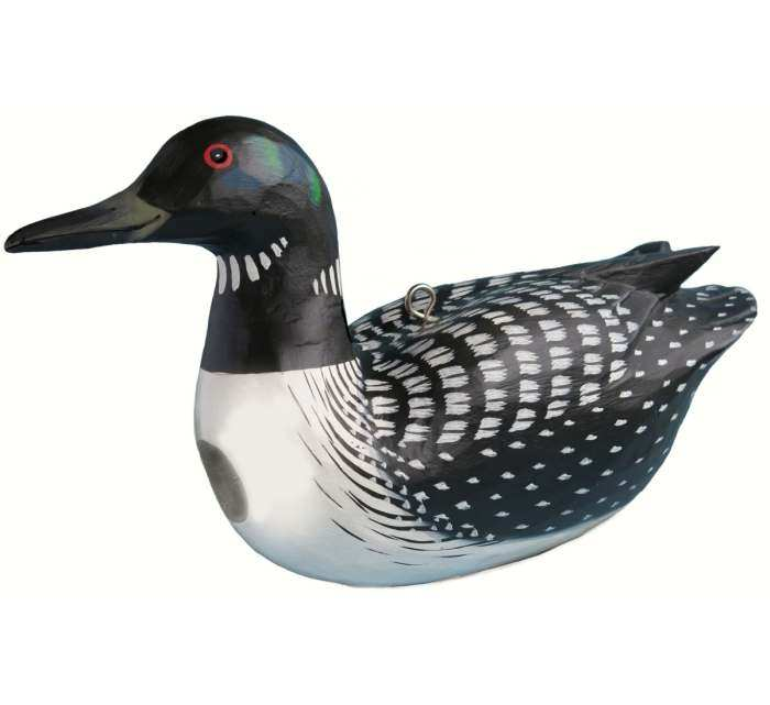 For The Birds Common Loon Bird House