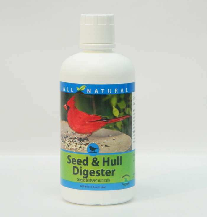 CareFree Seed & Hull Digester 33.9 oz. Refill