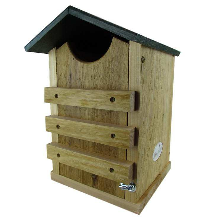 looker screech owl house, screech owl nesting box, quality screech