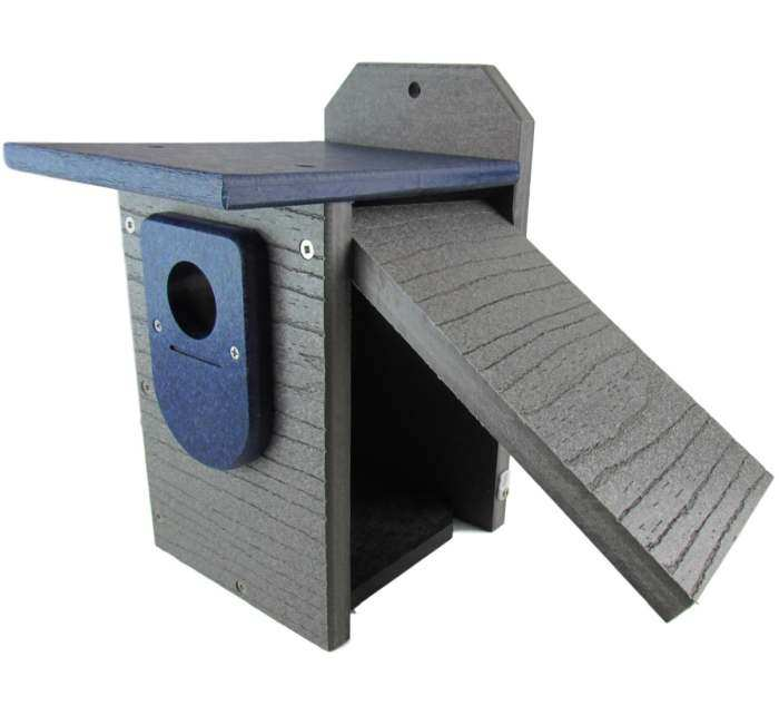 Select Recycled Poly Bluebird House Gray/Blue