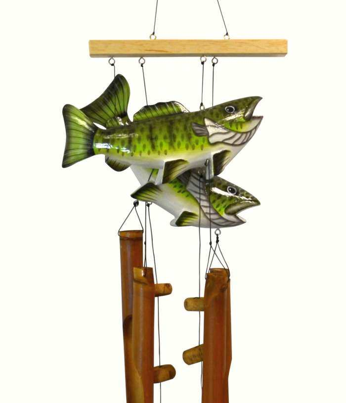 Bamboo Windchime Bass Pair