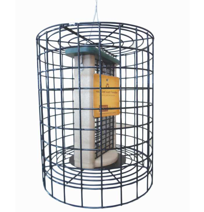 Second Nature Double Suet Cake Feeder with Cage