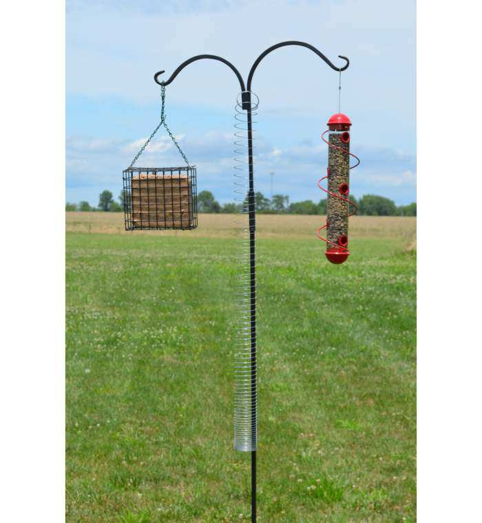 Squirrel Proof Pole Spring Device II
