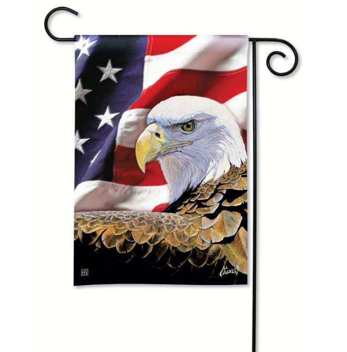 Breeze Art Spirit of Freedom Garden Flag
