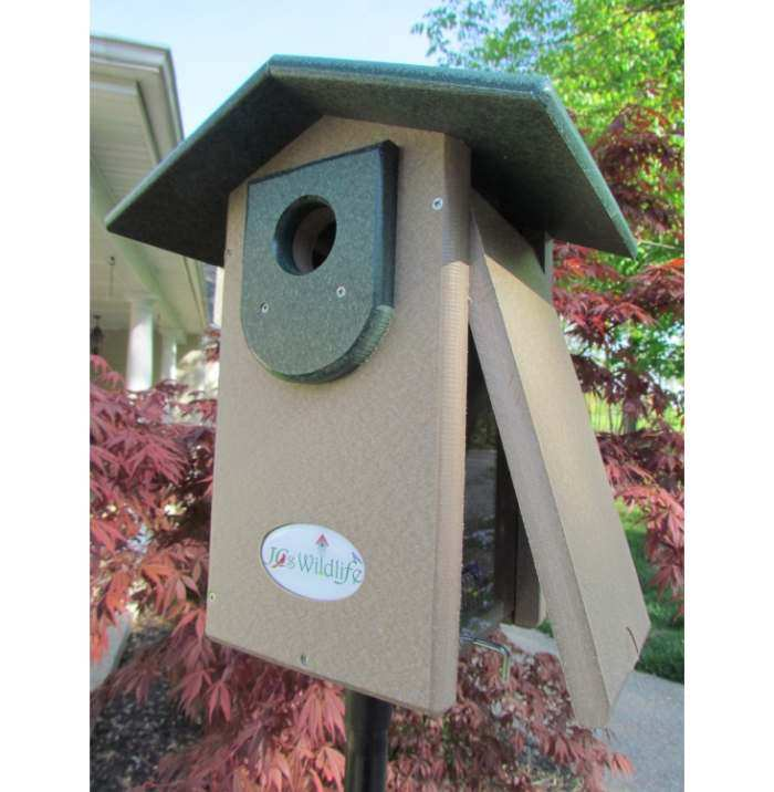 Select Recycled Ultimate Bluebird House Green