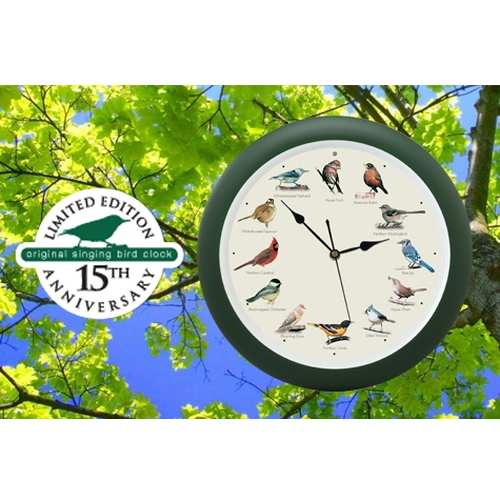 Original Singing Bird Wall Clock Ltd. Edition 13