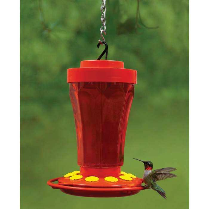 Hummingbird Flower Feeder 32 oz.