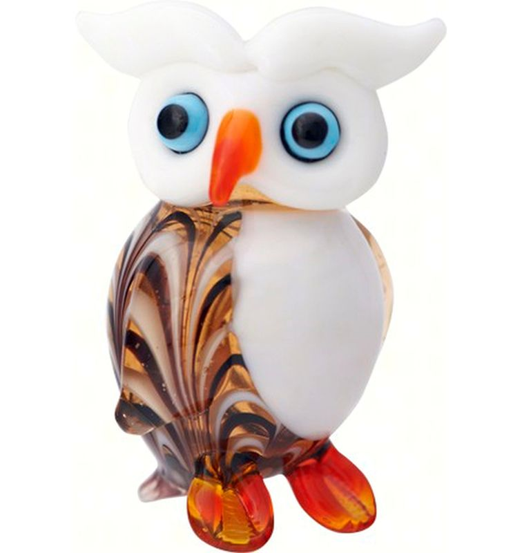 Milano Art Glass Animal Whimsy Owl