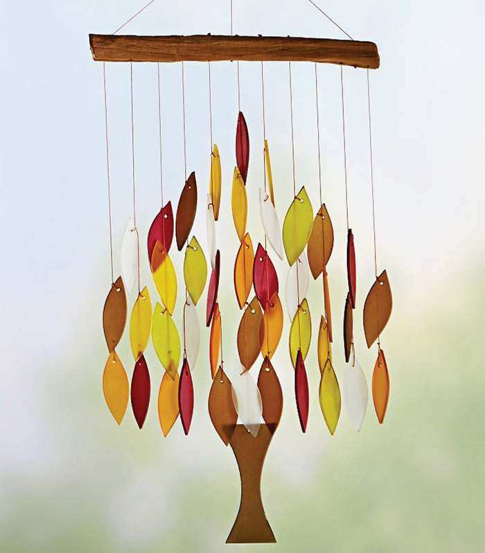Fall Colors Tree of Life Windchime