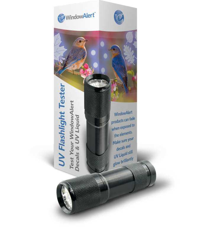 WindowAlert UV Flashlight Tester