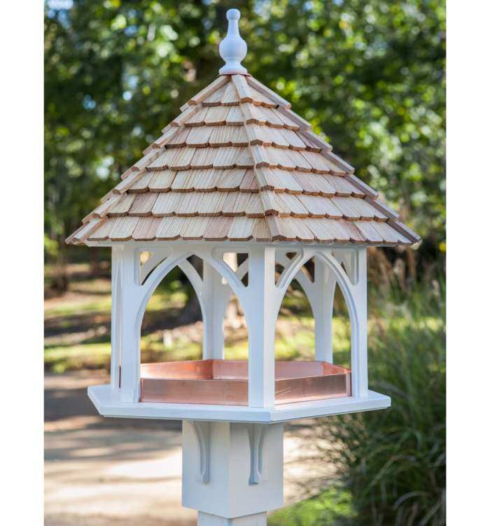 The Grande Gazebo Bird Feeder