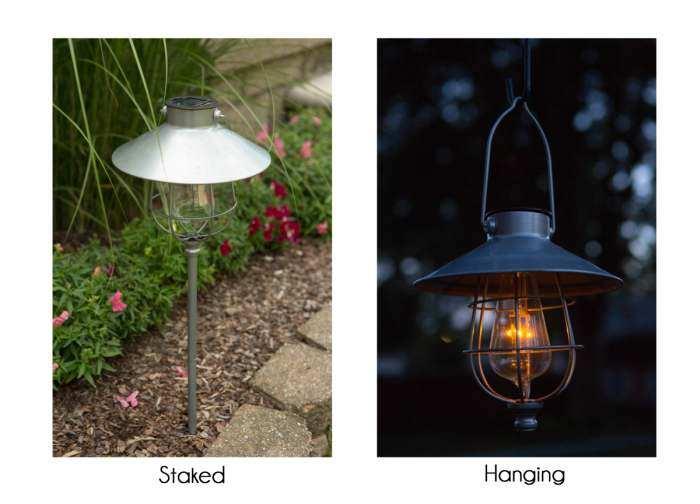 2 In 1 Solar Marine Path Light Edi Sol Lantern Accent Lighting At Songbird Garden