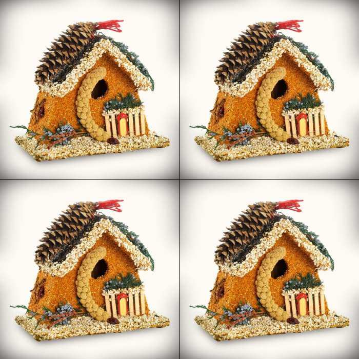 Birdie's Bed & Breakfast Chalet 4/Pack