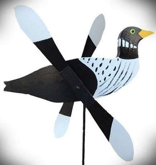 Whirlybird Loon Spinner w/Pole