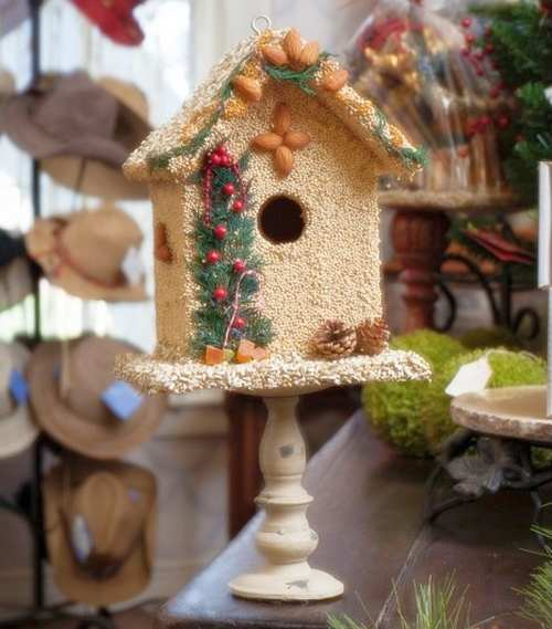 Juniper Bed & Breakfast Edible Bird House