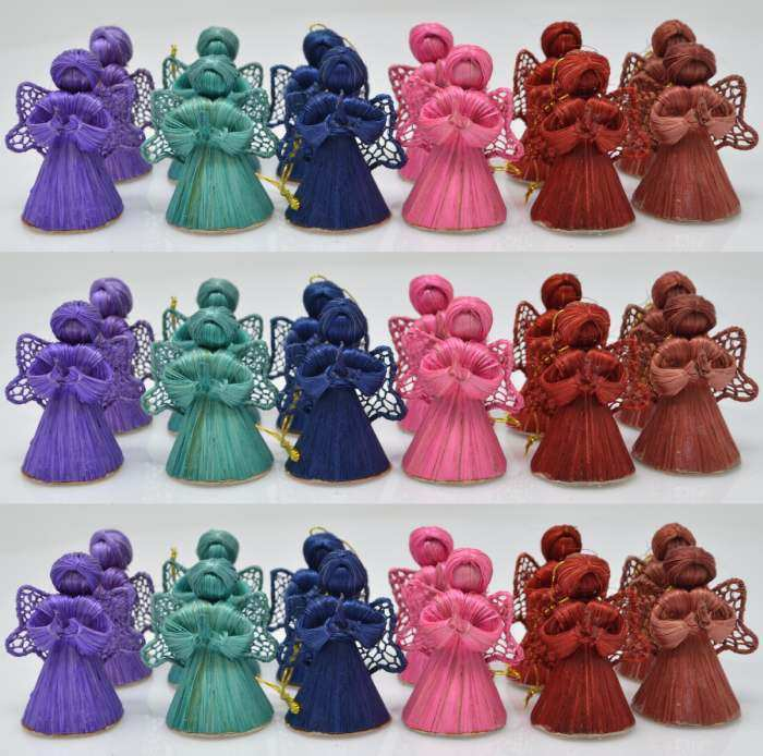 Abaca Baby Angel Assorted Colors 2