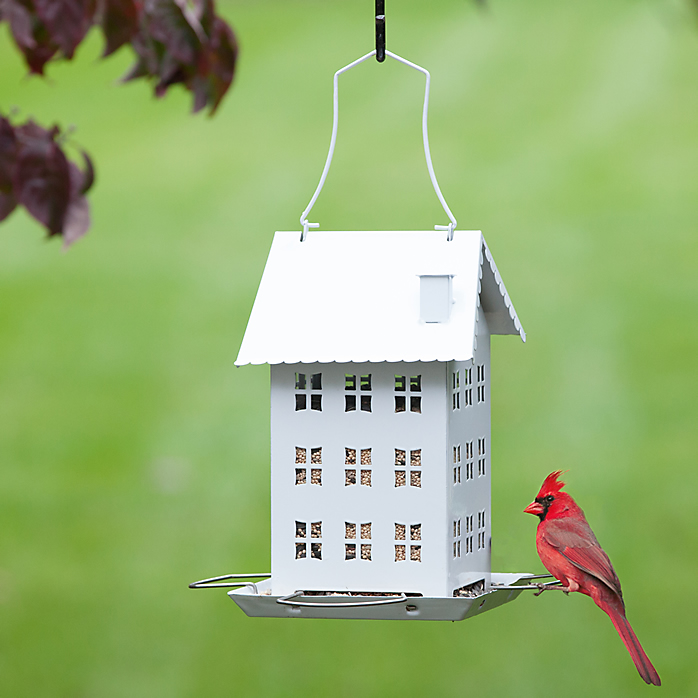 Farmhouse Bird Feeder