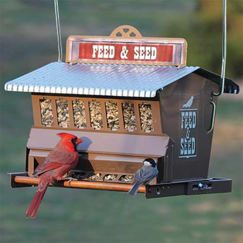 Rustic Farmhouse Absolute Feed & Seed Feeder