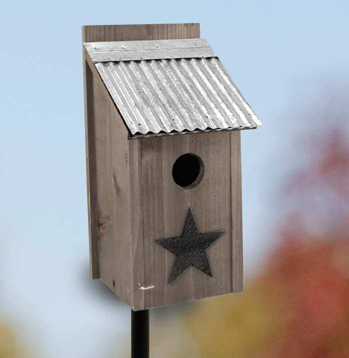 Rustic Farmhouse Bluebird House