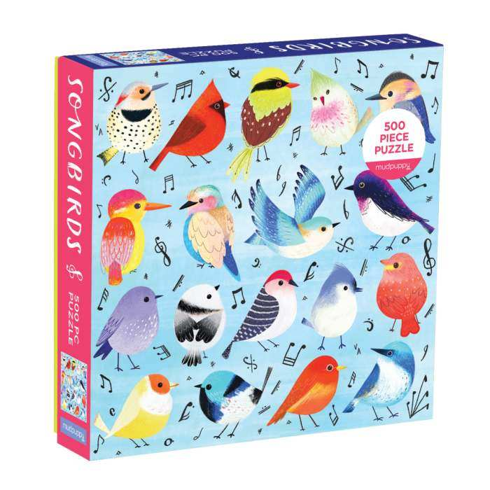 Songbirds 500 Piece Family Jigsaw Puzzle