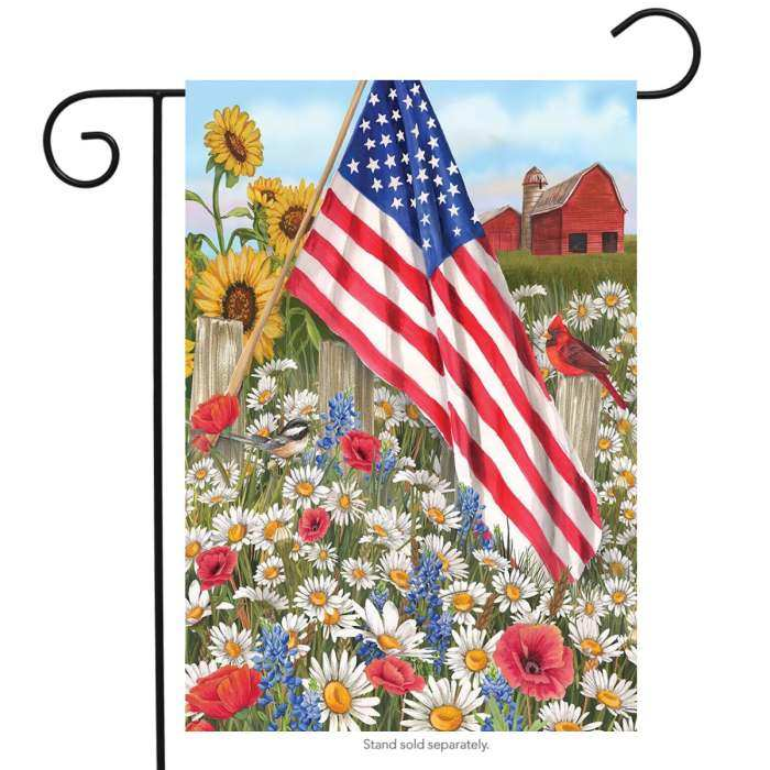 Briarwood America the Beautiful Garden Flag