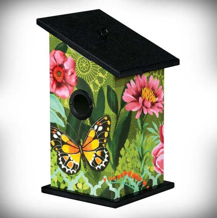 All-Weather Birdhouse Butterfly's Paradise
