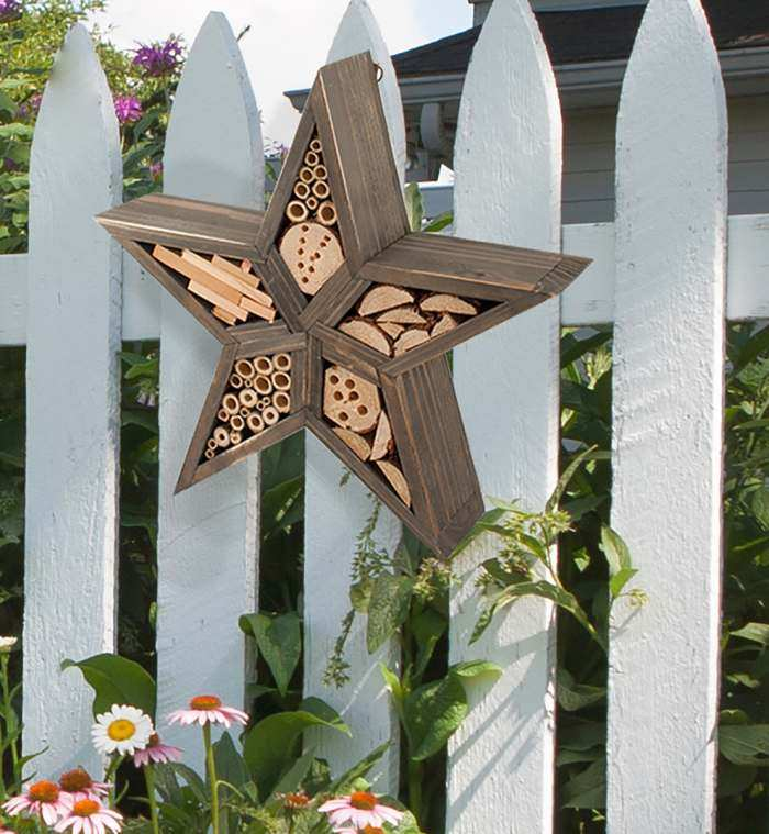 Rustic Star Insect House